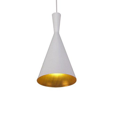KJLARS moderno Lampadari a sospensione con paralume in bianco metallo lampada (Illuminazione Decorativa A Sospensione Illuminazione)