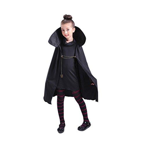 qingning Hotel Mavis Cosplay Anzug Robe Kleid Leggings Kinder Halloween - Kostüm Kinder Vampire Girls
