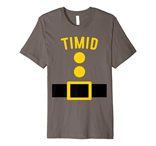 Scheuen Zwerg Kostüm T-Shirt Funny Halloween Geschenk