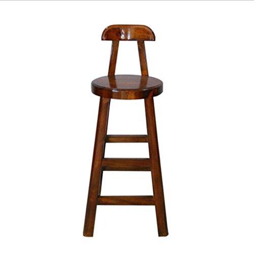 Nimm einen Stuhl Hotel Massivholz Esstisch Elm antike Möbel zurück Barhocker Bar Stuhl Freizeit Stühle Barhocker (größe : 100x40x40)