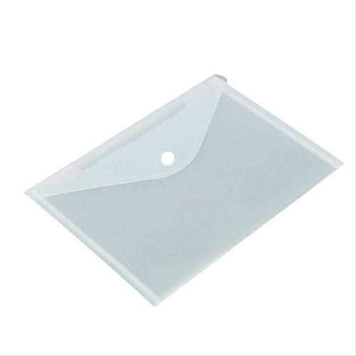12 teile/satz Transparent Kunststoff A5 Ordner Datei Tasche Dokument Halten Taschen Ordner Einreichung Papier Lagerung Büro Schulbedarf (Datei-ordner Receipts)