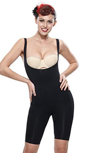 Control Shaper (Franato Women's Shapewear Bodysuit Open Bust Waist Control Slimming Body Shaper)