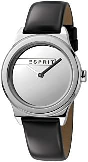 Esprit Womens Analogue Quartz Watch with Leather Strap ES1L019L0015
