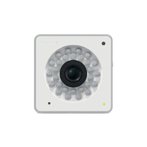 Y-cam Cube Professionelle WLAN IP-Sicherheitskamera mit VGA-Video, Nachtsicht, Alarmbenachrichtigung und 64GB microSD-Aufnahmeoption weiß - Nachtsicht Dropcam