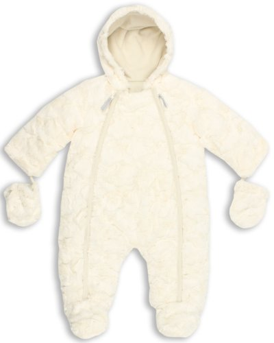 The Essential One - Luxus Baby Schneeanzug - Overall Kunstfell - 68/74 cm EO141