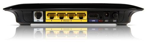 Linksys WAG320N-EU WLAN-Router DSL inkl. 4 Port-Switch (Annex A; Wireless-N; nur für Österreich und Schweiz geeignet)