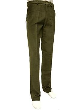 Bisley–Pantalón molesquín oliva, Verde
