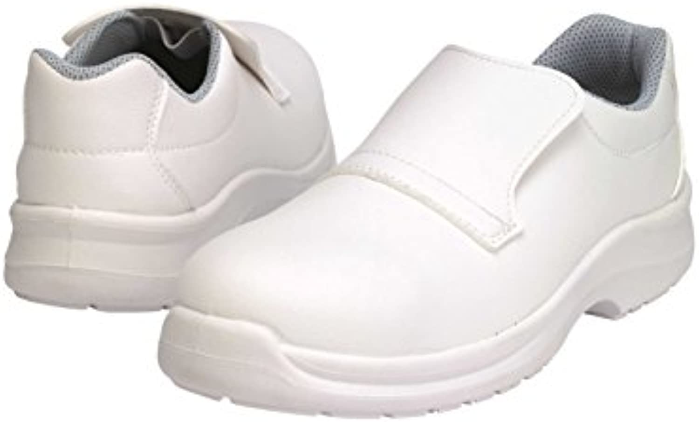 Samurai 1022035009 par de zapatos bajos Virgin S3 SRC, color blanco, 43