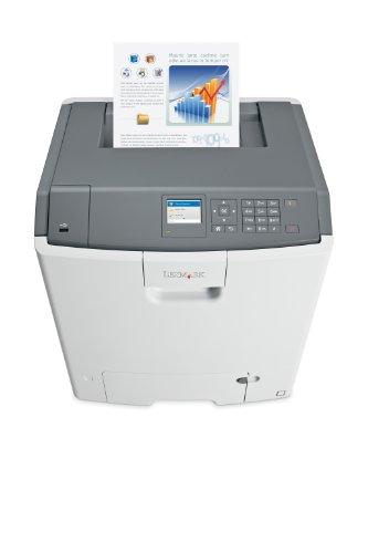 Lexmark C746DN Farblaserdrucker (1200x1200 dpi, USB 2.0) grau