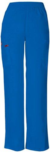 Damen Every Day Scrub Pull-on elastische Fracht Hose XL Royal Blue (Royal Blue Scrub Hose)