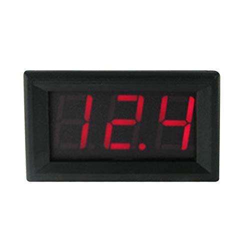 """0,56 """"Mini DC4.5V-30V 2 Drähte Voltmeter Rote LED-Anzeige Digital Volt Meter Meter"""