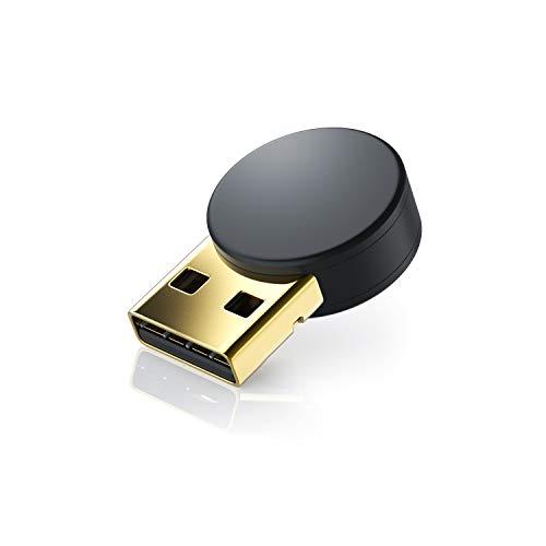 CSL - USB Bluetooth 4.0 Adapter | verbesserte Energieeffizienz | Bluetooth Class 4.0 Technologie | zur Verbindung von diversen Bluetoothgeräten Tastaturn Kopfhörer Soundboxen mit dem PC