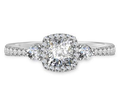 1,50 Karat Solitaire Diamant Ehering 14K Solid White Gold Verlobungsringe Größe 46 (14,6)