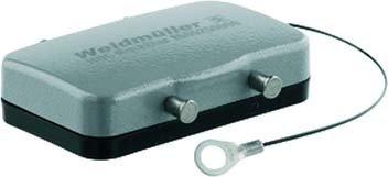 WEIDMULLER 1665250000 - TAPA PLASTICO HDC-HB-10-DBP