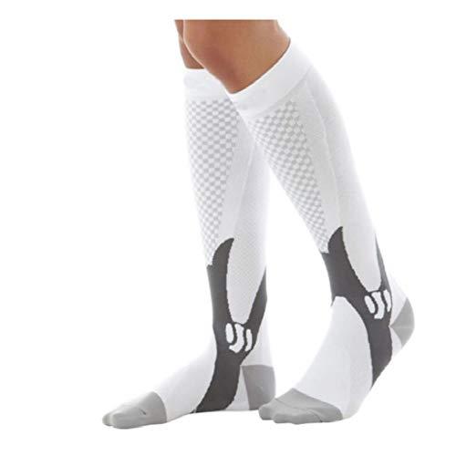 JAZ6 Kompressionsstrümpfe für Männer und Frauen 3 Paar Kompressionsstrümpfe für die Unterstützung der Beine von Frauen unter dem - Mat Mann Kostüm