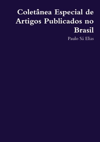Coletanea Especial De Artigos Publicados No Brasil
