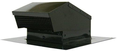 speedi-products ex-rcgf 044-Zoll Durchmesser verzinkt Dach Gap Flush, Schwarz (Flush Vents Floor)