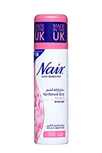 Nair Rose Hair Removal Spray 200ml Amazon In Beauty
