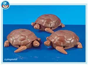 PLAYMOBIL: Nr. 7008 >>> 3 grosse Schildkröten <<< Im Folienbeutel
