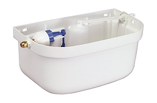 Hochhänge-Spülkasten | Ohne Deckel | Kunststoff | 6 Liter | WC, Toilette | Weiß
