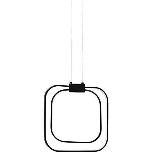 Suspension Cubes noir LED Kare Design