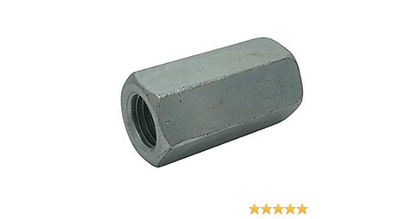 Langmuttern Gewindemuffen galvanisch verzinkt DIN 6334 Außensechskant M6-M24
