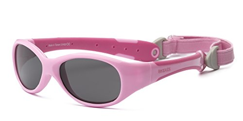 real-kids-occhiali-da-sole-bambino-forma-flessibile-eta-2-rosa-rosa-hot-pink