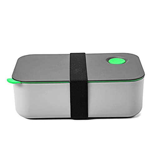 Picnic Box, 1000ml Leakproof and Sealed 2 Compartment Lunch Boxes for Ladies, Men and Children