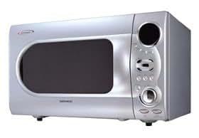 Daewoo Koc1bok 1000w 34 Litre Combination Silver Microwave