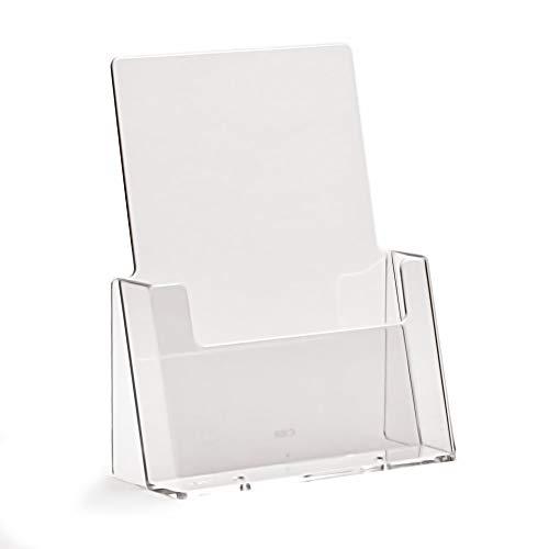 TAYMAR® Tisch-Prospekthalter DIN A5, glasklar (C160)