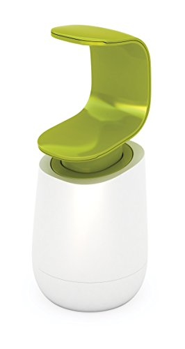Joseph Joseph C-Pump Soap Dispenser - White/Green