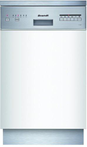Brandt VS1009X Lave Vaisselle Encastrable 44,5 cm 9 Couverts 47 dB Classe: A Bandeau Inox