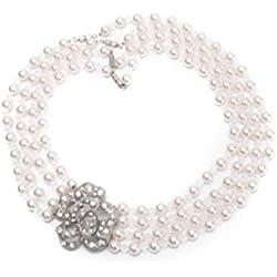 Collar de Perlas Múltiples Hilos para Niñas (2-7 años)
