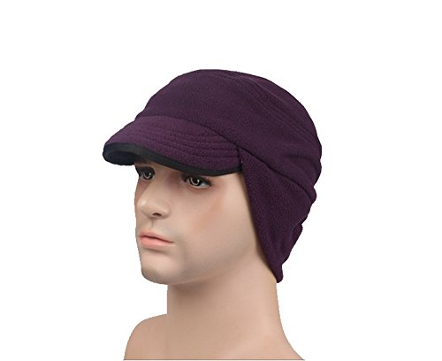 Crazy Cart-in Unisex Winter Trooper Trapper Hat Jagd Hat Uschanka Ohr Klappe Kinnriemen und Winddicht Maske Klappe Hat