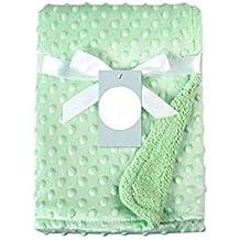 Beitsy - Manta de lana suave para recién nacidos
