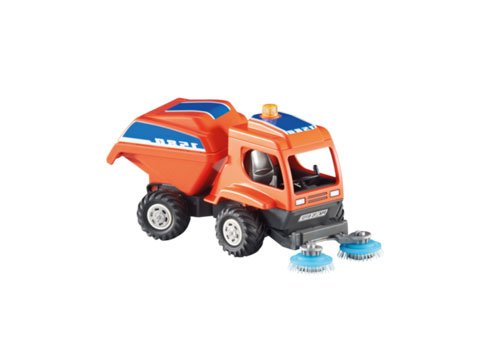 PLAYMOBIL 6509 City Action - Kehrmaschine (Folienverpackung)