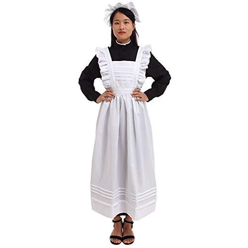 GRACEART Damen Plymouth Pilger Kostüm (Reine Baumwolle, L)