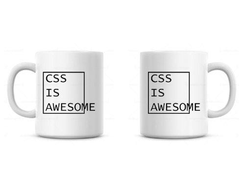DottsMusic CSS is Awesome–Funny Neuheit Programmierer Becher/Tasse