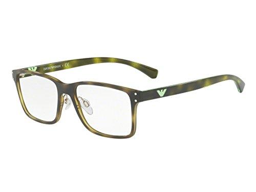 Emporio Armani Optical Frames Frame HAVANA WITH DEMO LENS -