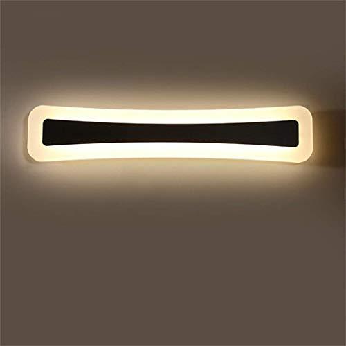 BD Modernes Foto des Lampenmodus vor dem Test von Simple des Badezimmerspiegels Energiesparendes LED-Licht vor dem Acrylspiegel der Wandleuchte Höflichkeitslicht mit Heimgebrauch,Warmes Licht 40cm15w