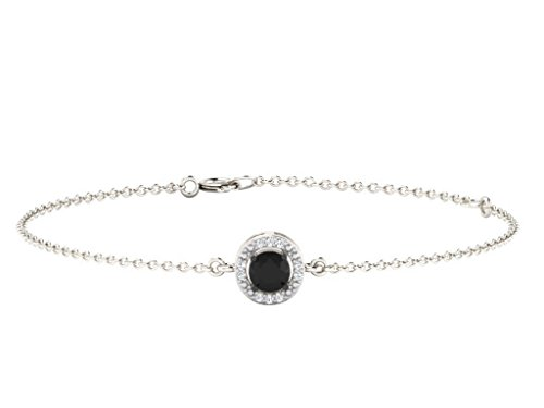 his-her-003-cts-diamonds-026-cts-black-onex-square-shape-bracelet-in-9-ct-white-gold-gh-color-pk-cla