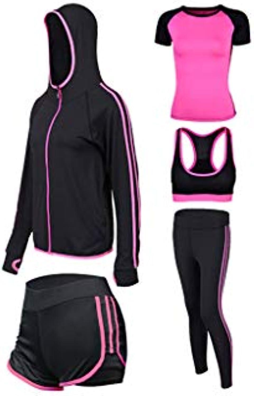 ... Palestra Sports Yoga Tute Allenamento da corsa da donna Set fitness di  abbigliamento sportivo Abbigliamento fitness 460e032108c