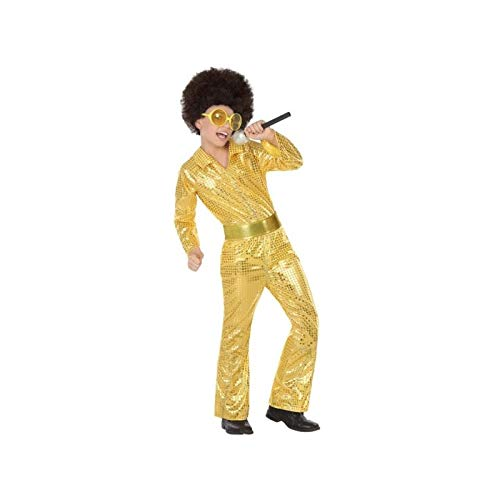 ATOSA 56907 COSTUME DISCO GOLDEN 10-12 Jungen