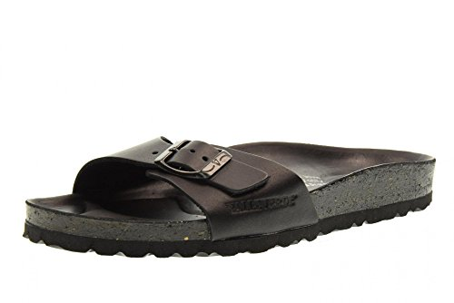 VALLEVERDE pantoufles dame chaussures G51180 NOIR Black