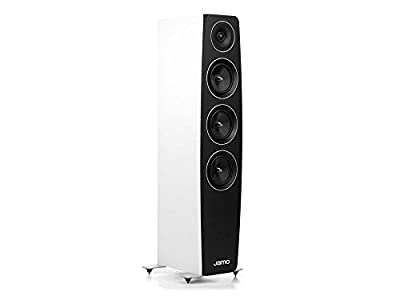 Jamo C 97 180W Blanc haut-parleur - Hauts-parleurs (3-voies, 1.0 canaux, Avec fil, 180 W, 32-24000 Hz, Blanc) par Jamo