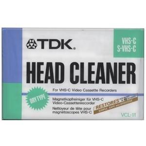 TDK VCL-11 VHS-C Reinigungskass. trocken