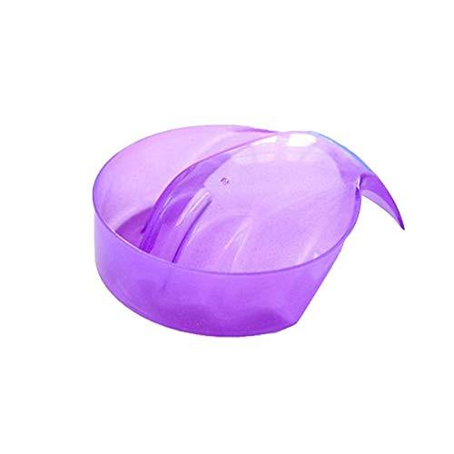 housesweet Einweichen Handschale Fach Nail art Acryl UV Gel Spitze Nagellackentferner Maniküre Pflege Behandlung Werkzeug