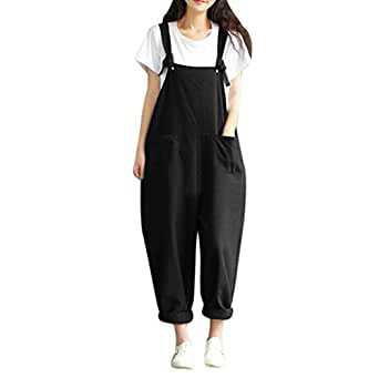 ea1ac2d9a846f Image Unavailable. Image not available for. Colour  Pingtr Womens Baggy  Dungarees