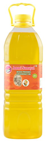 Ammi Samayal Wood Pressed (cold press) Edible Groundnut Oil, 2 L