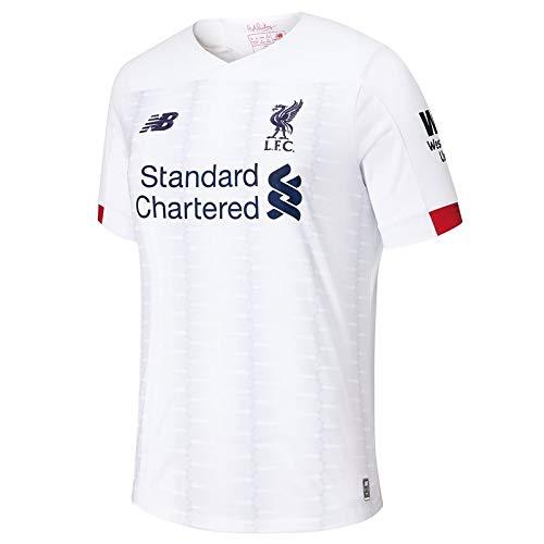 1da27bfe9 New Balance Liverpool FC 2019/20 Away - Camiseta de Manga Corta para niño,